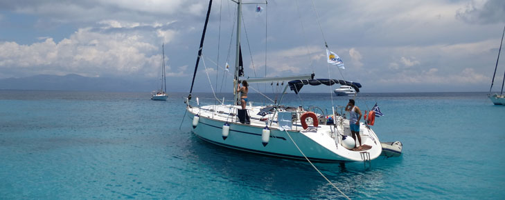 Sailing your yacht in the Aegean and the cycladic islands